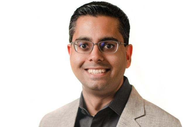 Ravi Thakkar, vice-president of product management at Impossible Foods