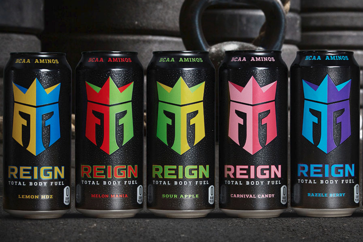 Reign Total Body Fuel beverages, Monster