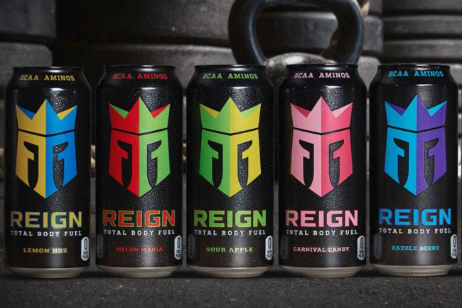 Reign Total Body Fuel beverages, Monster