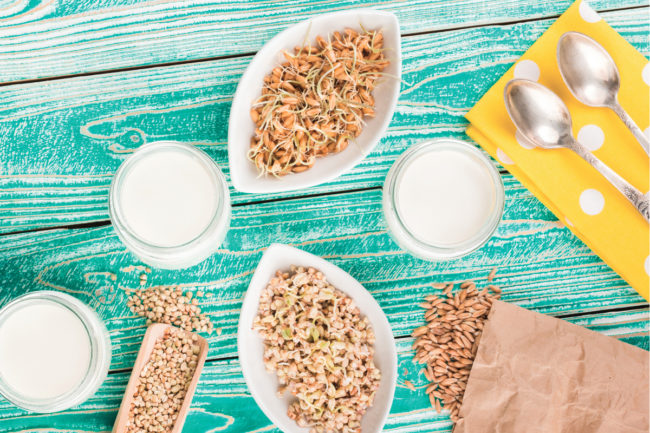 Sprouted ancient grains
