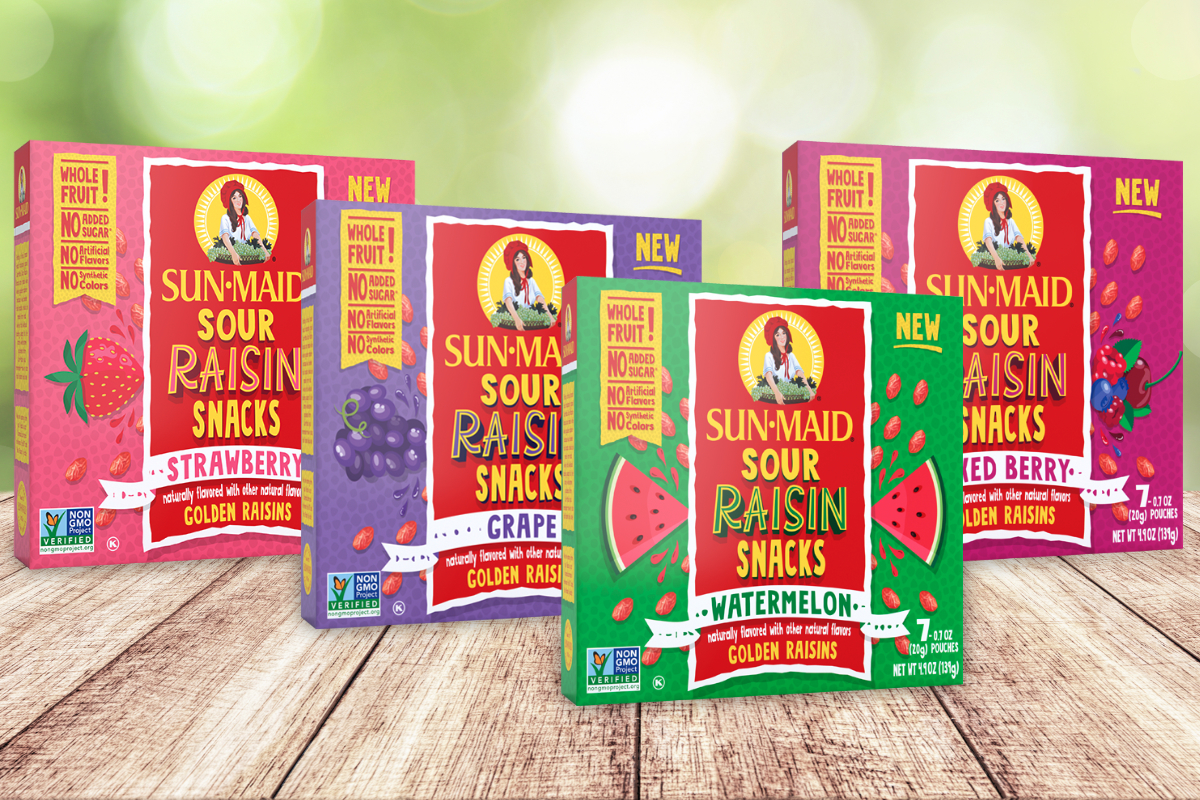 Sun-Maid Sour Raisin Snacks
