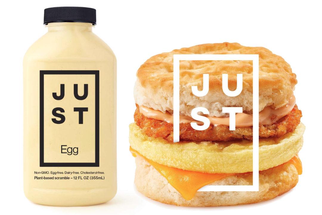 Tim Hortons Just Egg breakfast sandwich