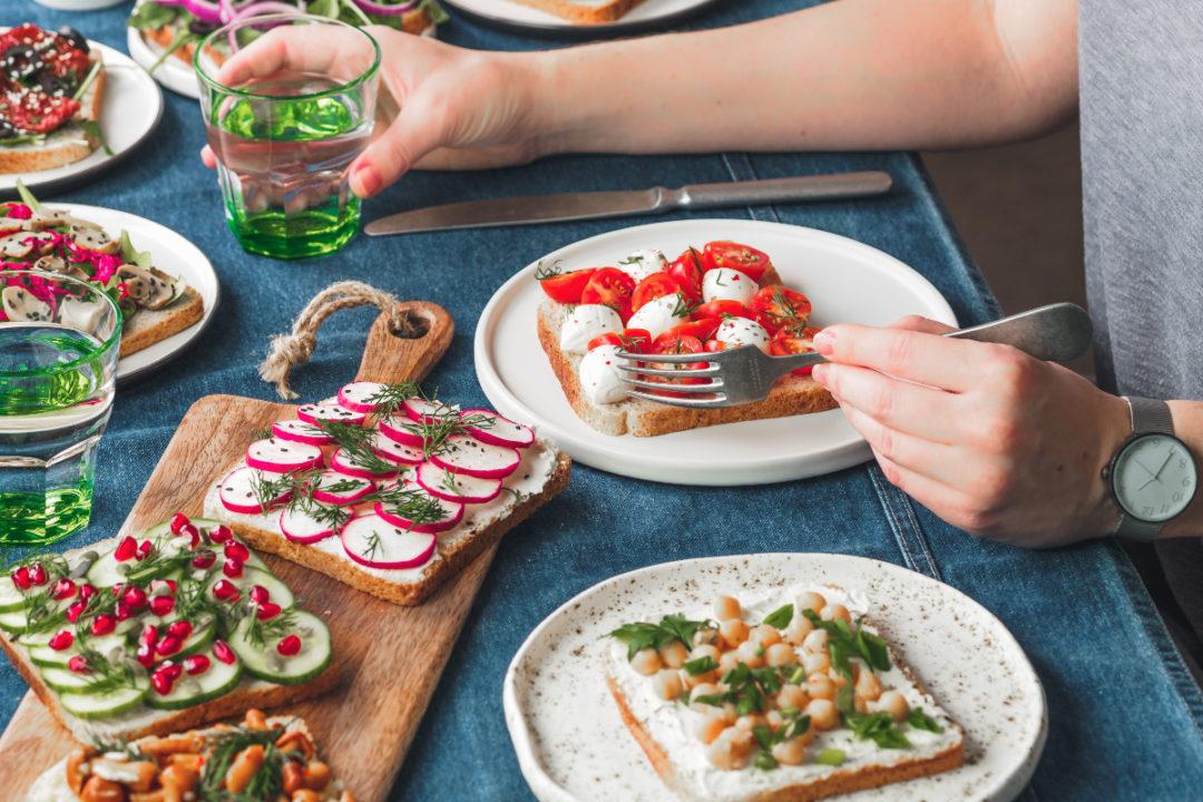 Eating plant-based diet