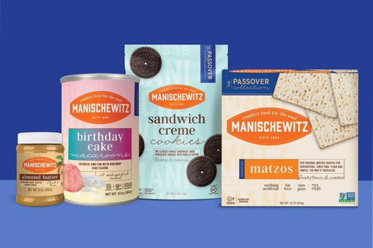 Manischewitz kosher food products