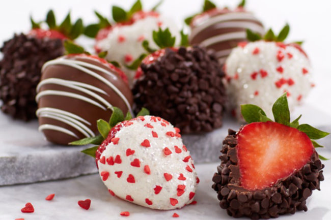 Shari's berries chocolate dipped strawberries