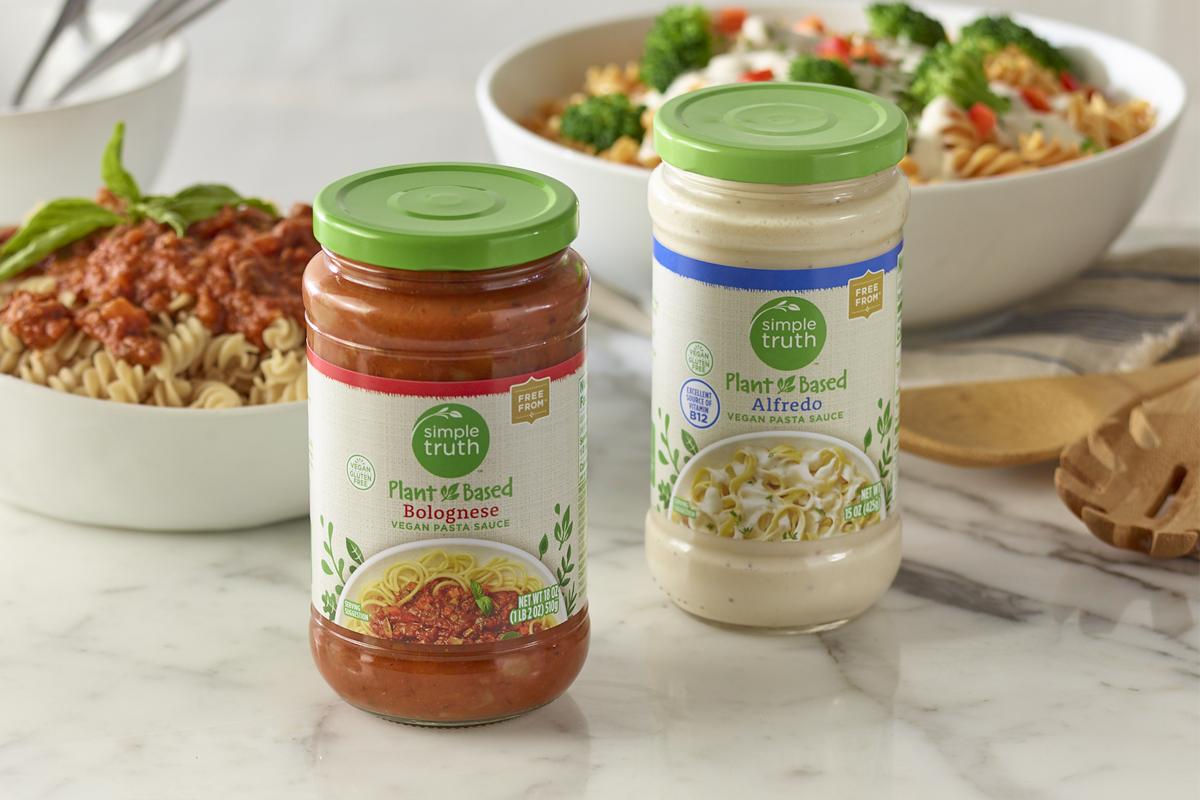 Kroger plant-based sauces