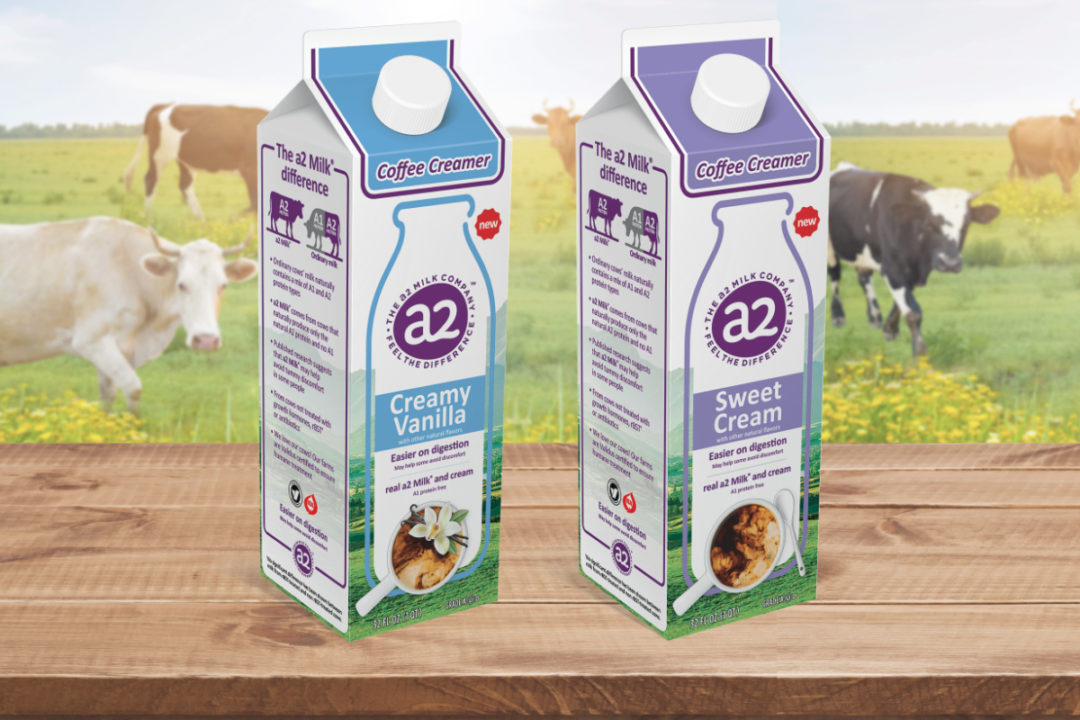 a2 Milk Coffee Creamers