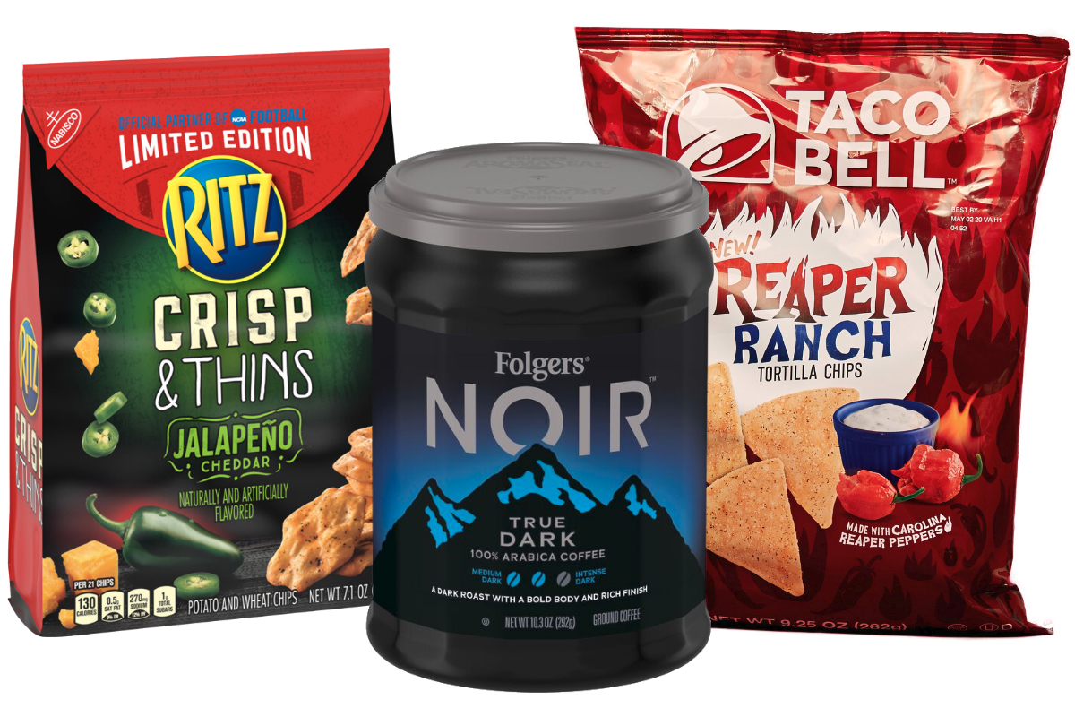 New products from J.M. Smucker, Mondelez, Taco Bell