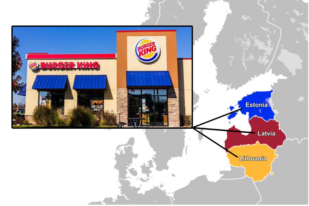 Burger King in the Baltics