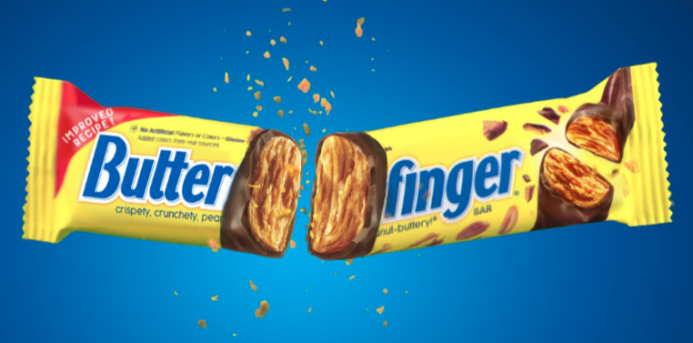 Butterfinger updated recipe