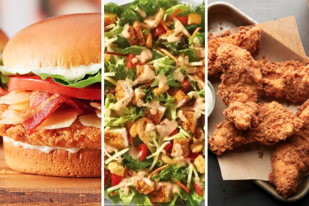 New menu items from Burger King, Wendy's and Buffalo Wild Wings