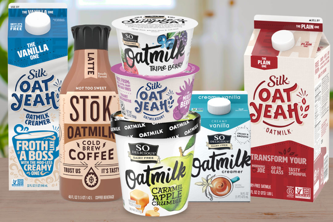Danone oatmilk products