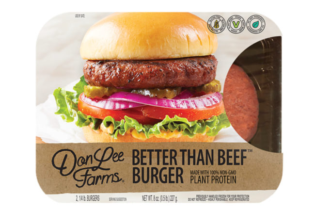 Don Lee Farms Better Than Beef Burger