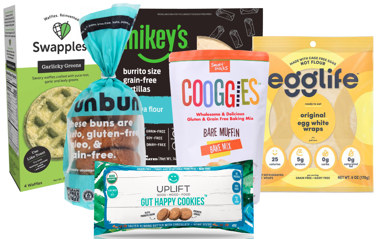 Grain-free products at Expo East