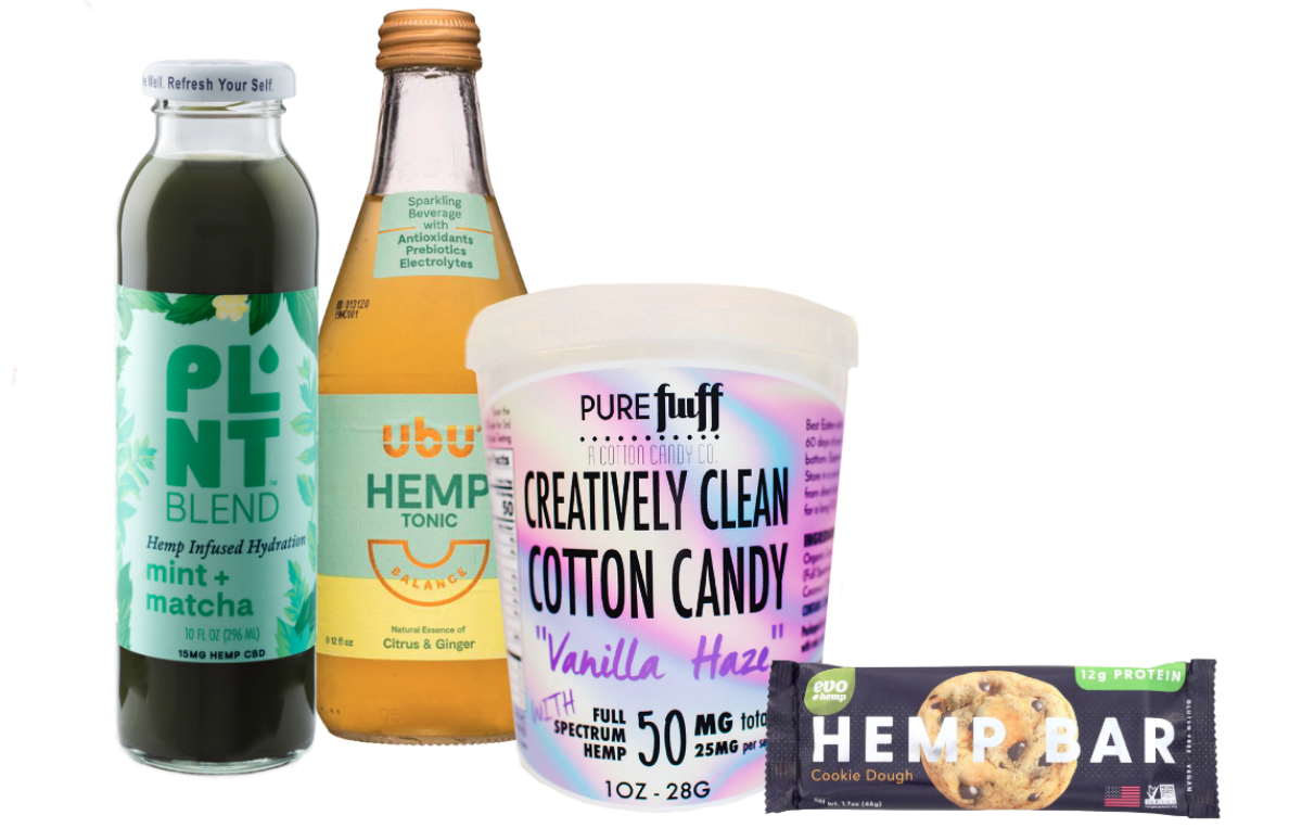 Hemp products at Expo East