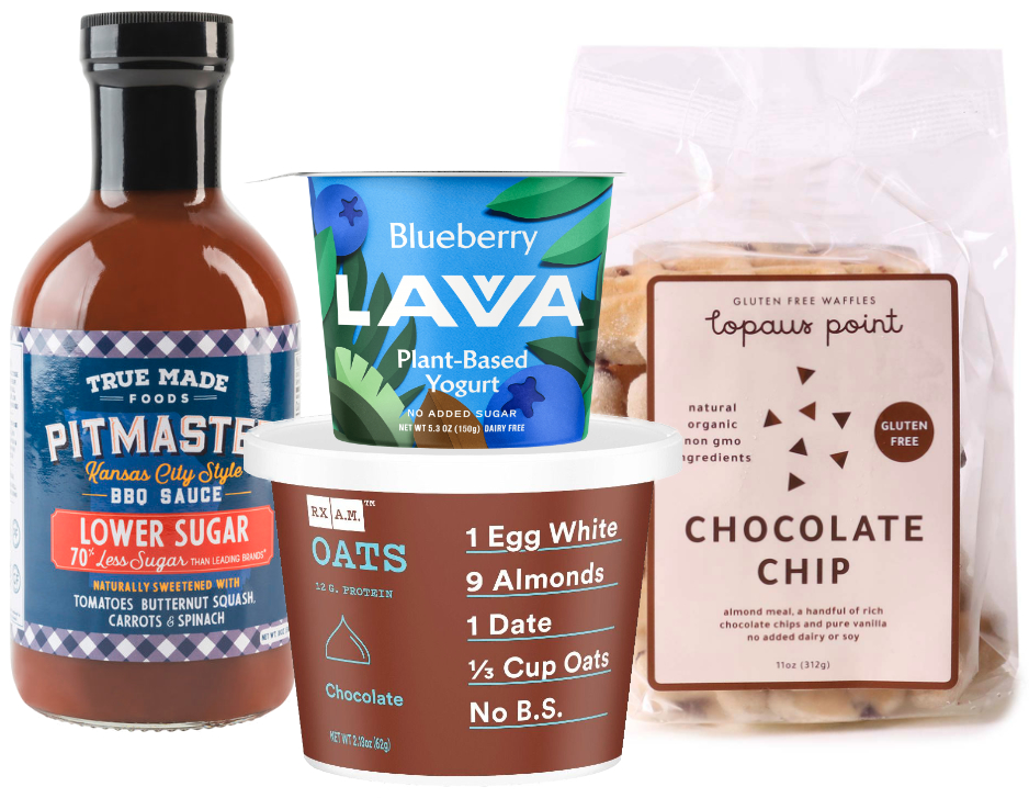 Low sugar products at Expo East