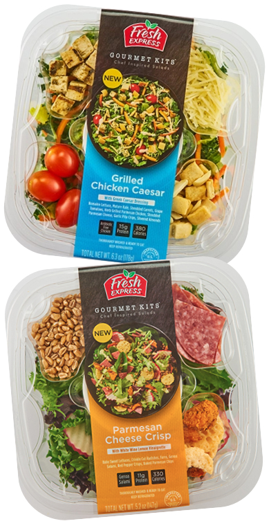 Fresh Express Gourmet Kits salads