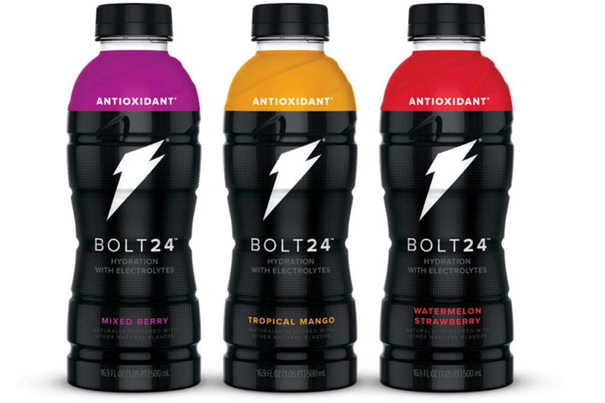 Bolt24 Gatorade beverages, PepsiCo