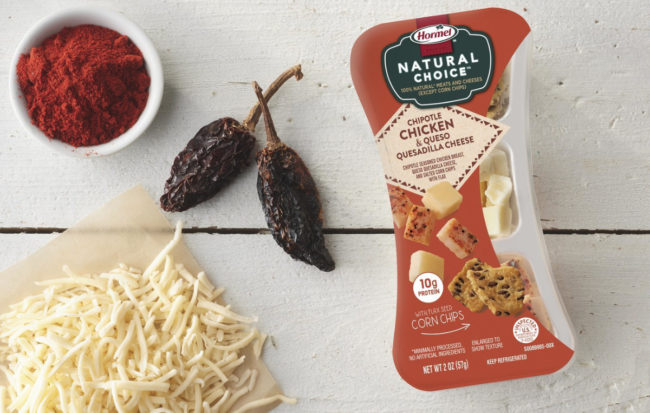 Hormel Natural Choice Chipotle Chicken snack packs