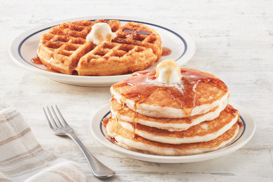 IHOP gluten-friendly pancakes and waffles