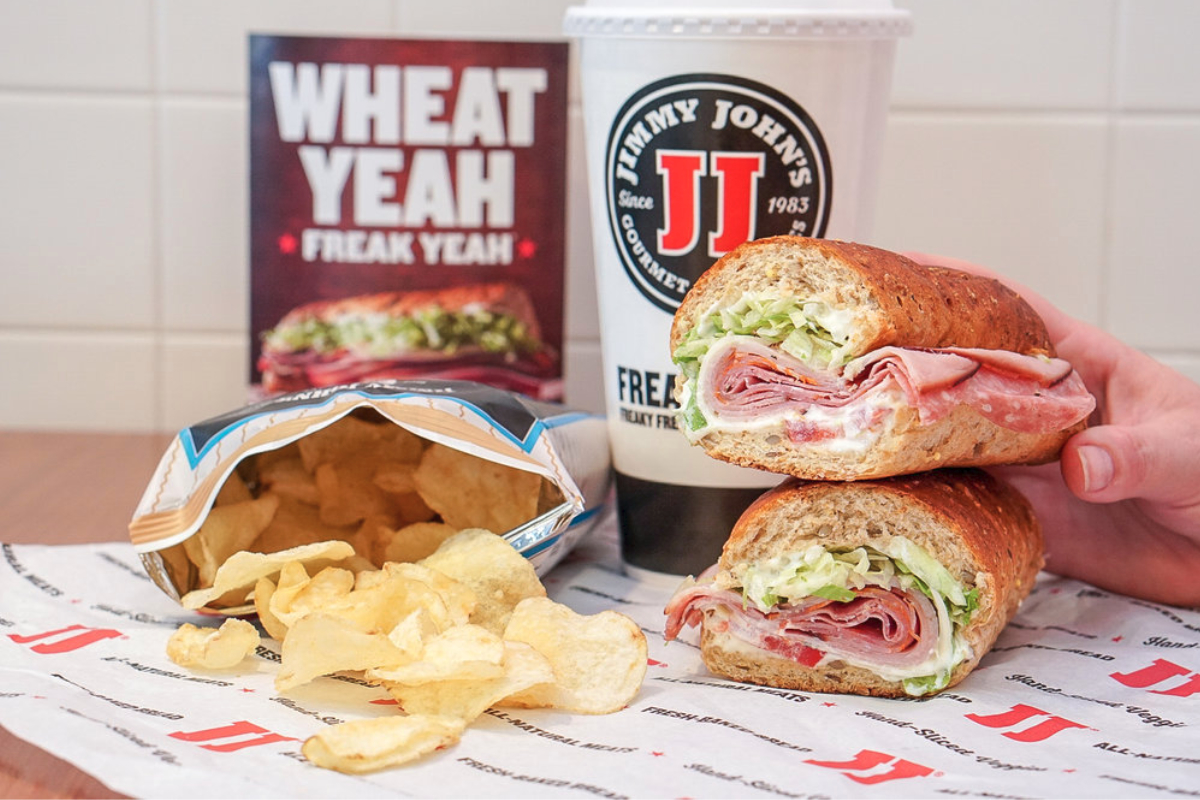 Jimmy Johns Sandwiches meal