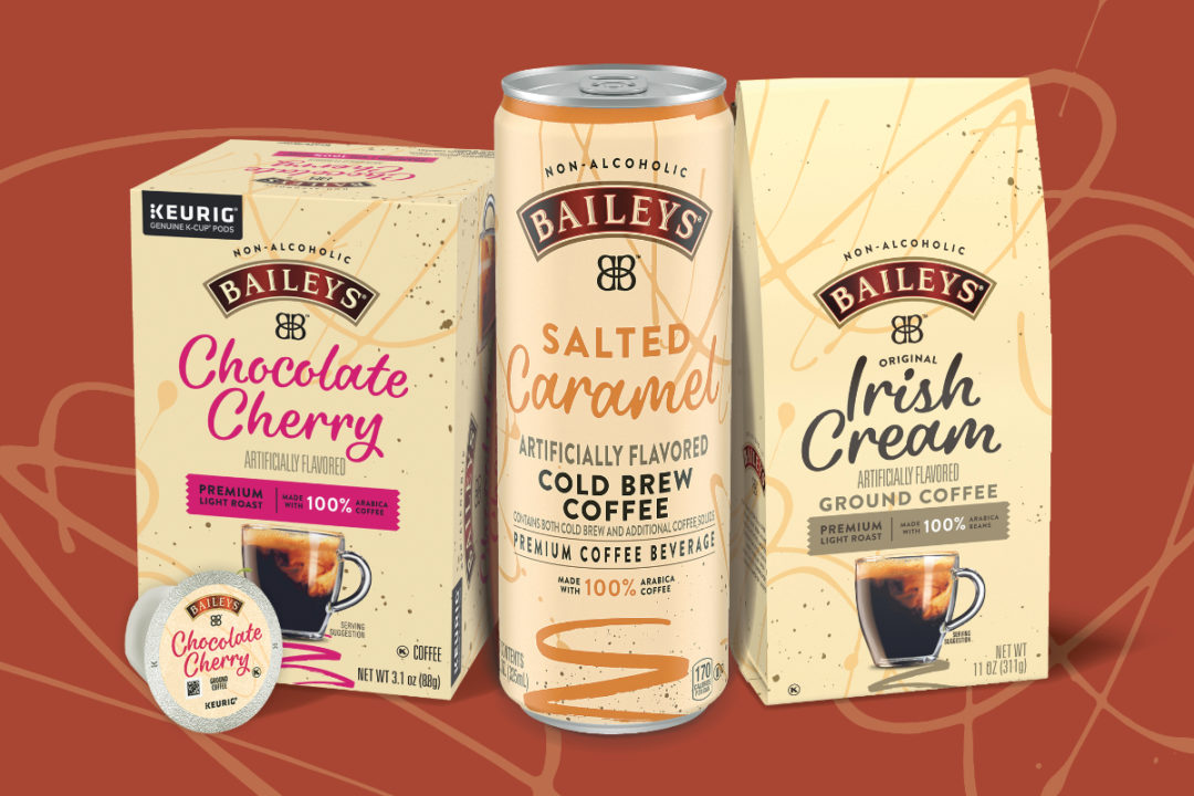 Kraft Heinz Baileys coffee products