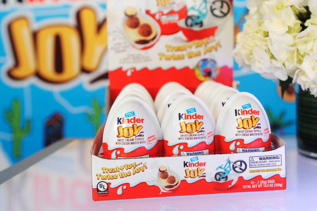 Kinder Joy eggs, Ferrero