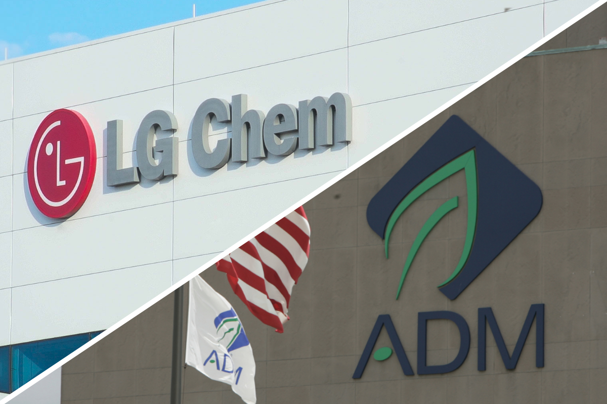 LG Chem and ADM partnership