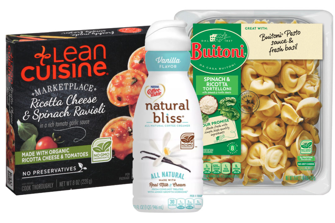 Nestle Non-GMO claims on Lean Cuisine, Coffee-mate and Buitoni products