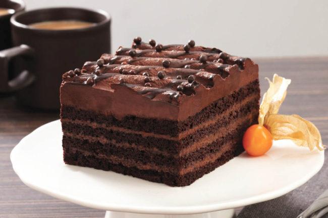The Original Cakerie Chocolate Ganache Layer Cake