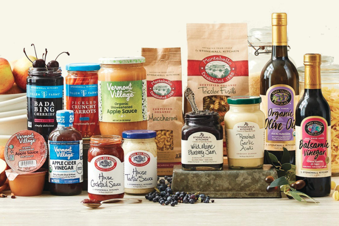 Stonewall Kitchen and Vermont Village products