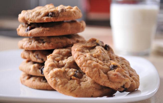 Stratas Foods oatmeal cookies