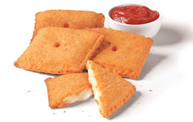 Pizza Hut Stuffed Cheez-It Pizza