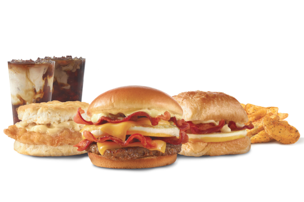 Wendys breakfast offerings