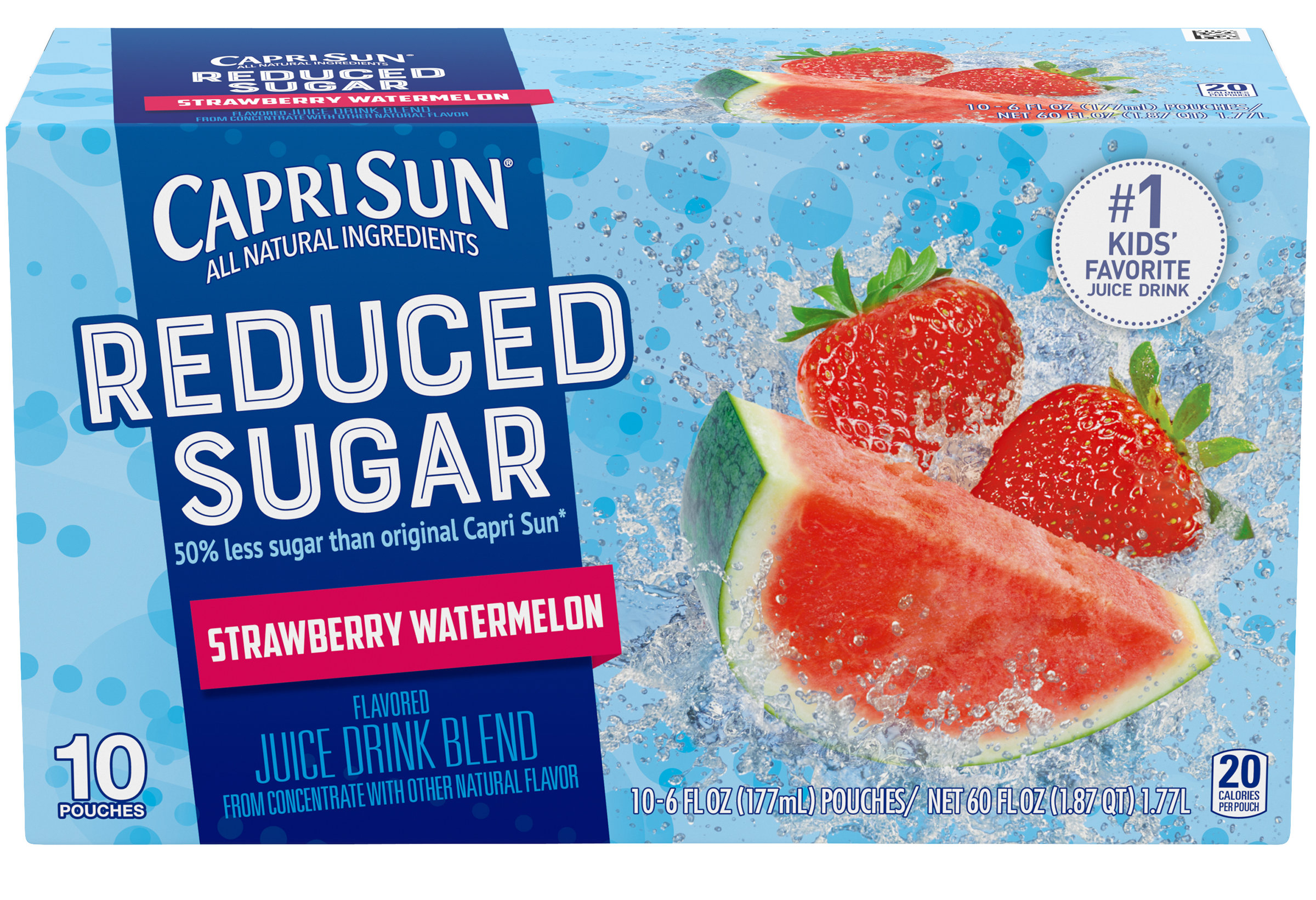 Capri Sun reduced sugar