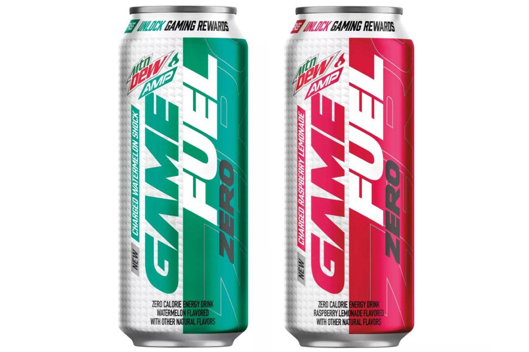 Mtn Dew Amp Game Fuel Zero