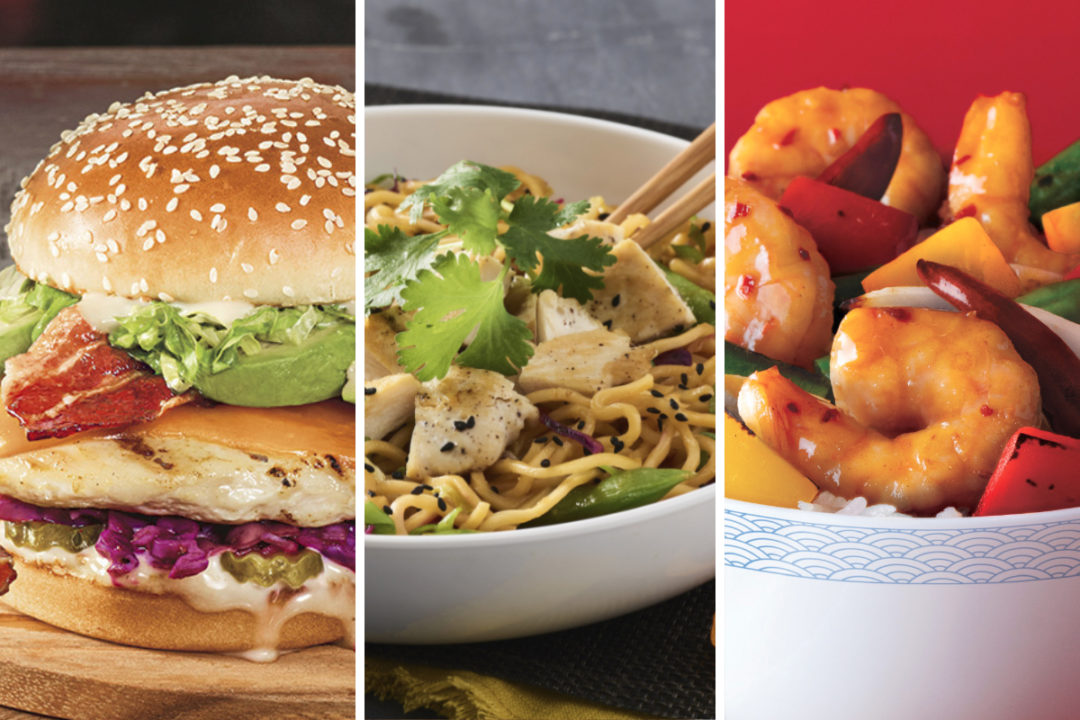 New Asian-inspired menu items from Red Robin, Noodles & Co. and Panda Express