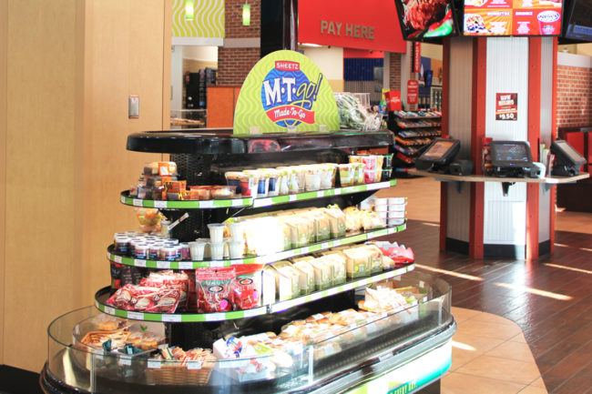 Better-for-you Sheetz convenience store