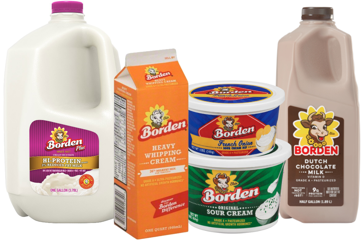 Borden Dairy Co. products