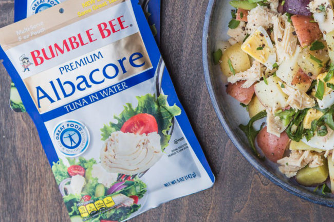 Bumble Bee Foods albacore tuna pouches