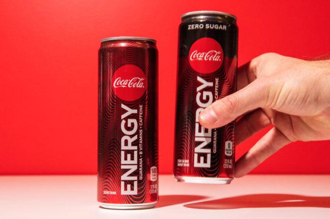 Coca-Cola Energy drinks