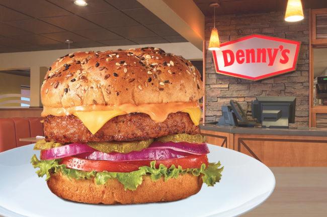 Denny's Beyond Burger