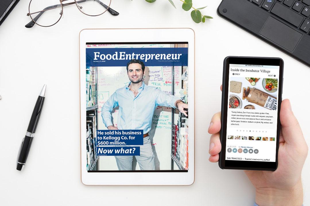 Food Entrepreneur mobile