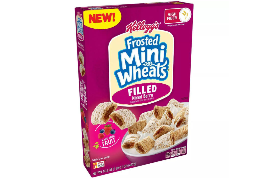 Kellogg's Frosted Mini-Wheats Filled
