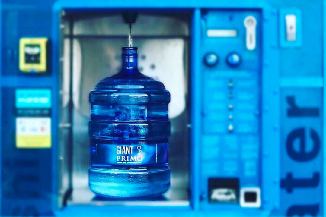 Primo Water Corp. dispenser and jug