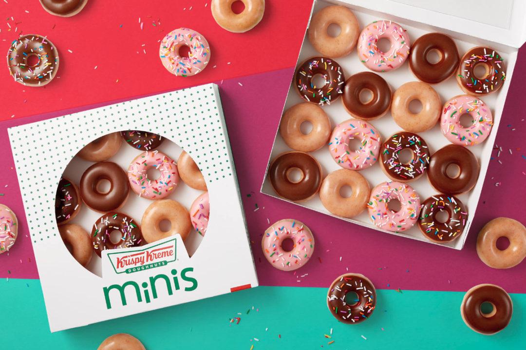 Krispy Kreme Original Glazed Mini Doughnuts