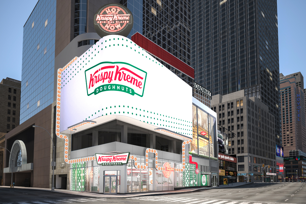 Krispy Kreme store in New York City