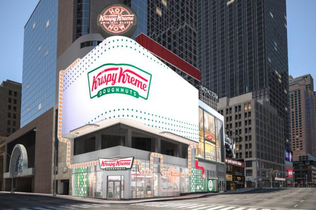 Krispy Kreme store in New York City