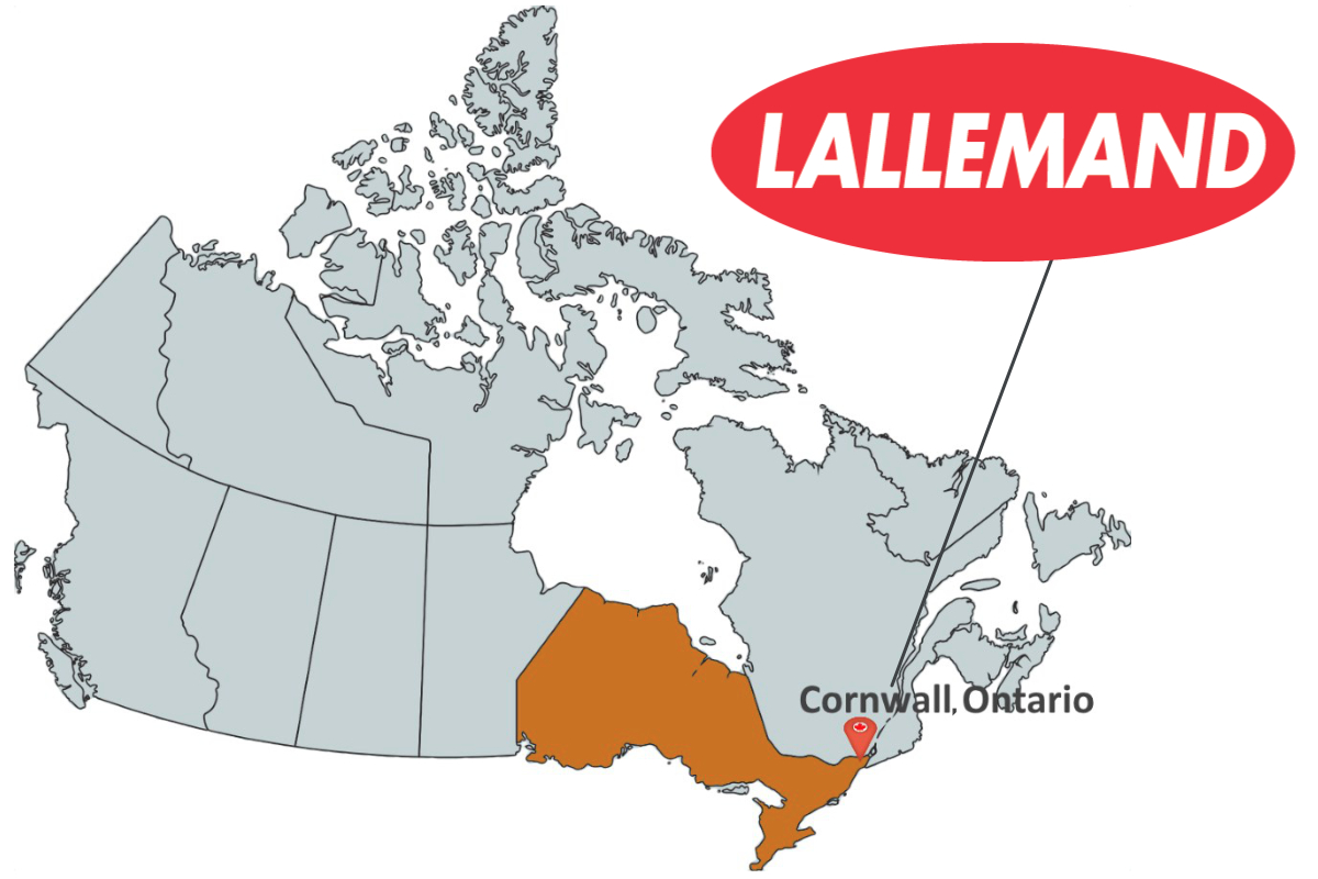 Lallemand in Cornwall, Ontario