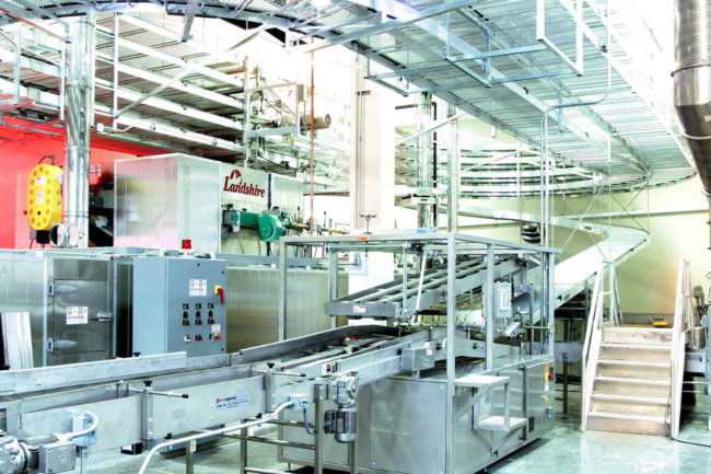 Landshire Sandwiches facility in Caseyville, Ill., Tyson Foods